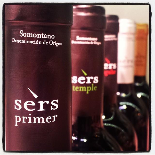 sers somontano vino