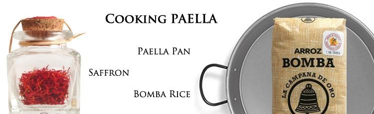 paella rice pan safran
