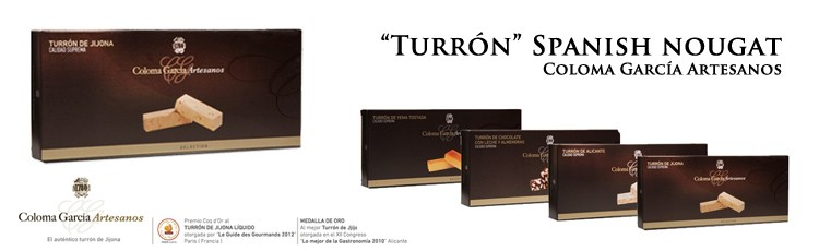 "buy online ""Turron"", Spanish nougat"
