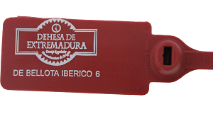 etiqueta jamón iberico bellota dehesa extremadura