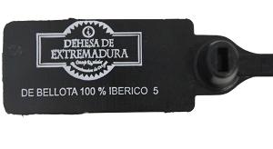 etiqueta jamon iberico bellota puro dehesa extremadura