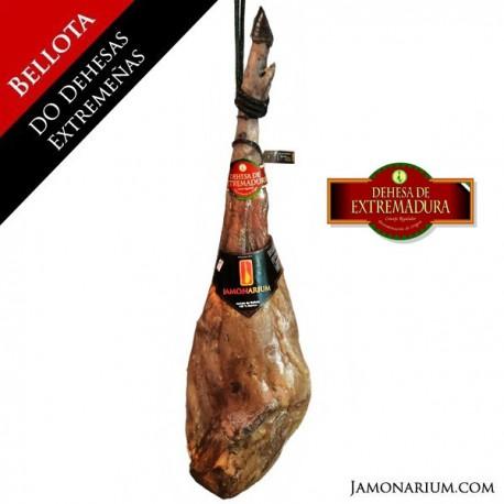 Bellota 100% Puro Ibérico pata negra ham DO Dehesa de Extremadura