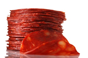 types chorizo meat used pork