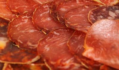 Iberian pork loin acorn serrano