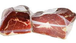 presentazione jamon paleta iberico serrano confezione vuota disossata