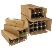 scatole presentazione bottiglie vino cava