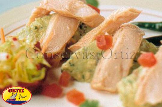 Guacamole con ventresca