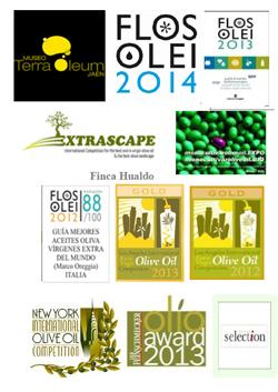 Premios del aceite de oliva virgen extra Picual de Casas de Hualdo