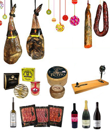 gourmet deli packs consist of high quality, typical of Spanish products