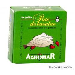 """Pate de morue avec de poivrons du """"Piquillo"""" Agromar"""