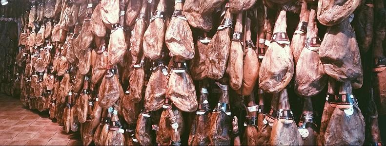 types iberian serrano whole ham