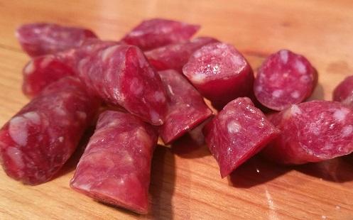 dégustation de vins salchichon sains