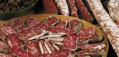 what is Iberic salchichon aspect vic