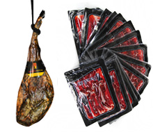 transport spanish ham to Europe, uk, denmark, germany, holland