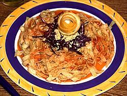 receptes pebre vermell la dàlia tallarines salsa