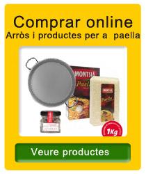 Arròs i productes per a paella