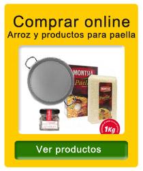 Arroz y productos para paella