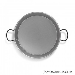 The paellera, the pan used for cooking paella