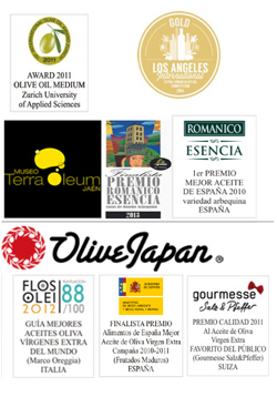 Premios del aceite de oliva virgen extra monovarietal Arbequina