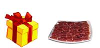 Regala jamón Bellota, lotes, embutidos ibéricos, queso,