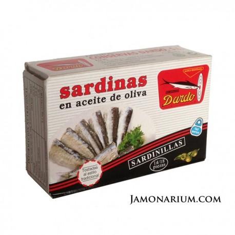 sardinas en aceite dardo