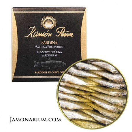 sardinas ramón peña etiqueta negra