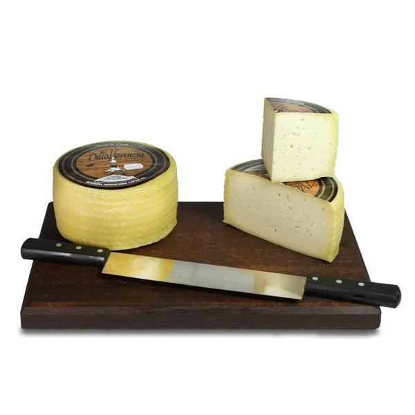 com degustar el formatge manxec