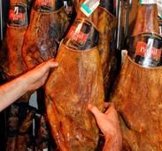 la cala seleccioner jambon espagnol iberique iberico pata negra bellota serrano