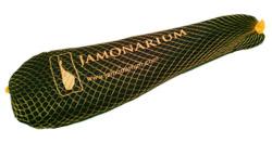 Presentation jambon espagnol iberique iberico pata negra bellota serrano entier