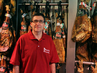 Sell purchase and buy spanish ham from Barcelona price