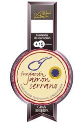 Serrano Gran Reserva spanish ham sliced salamanca